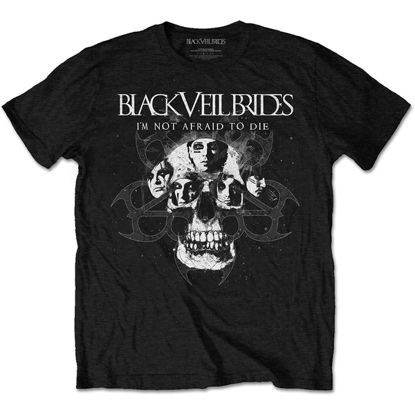 Black Veil Brides - I'm Not Afraid To Die Unisex Large T-Shirt - Black