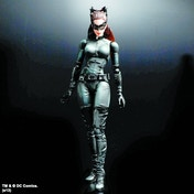 Batman The Dark Knight Trilogy Play Arts Kai Catwoman Action Figure