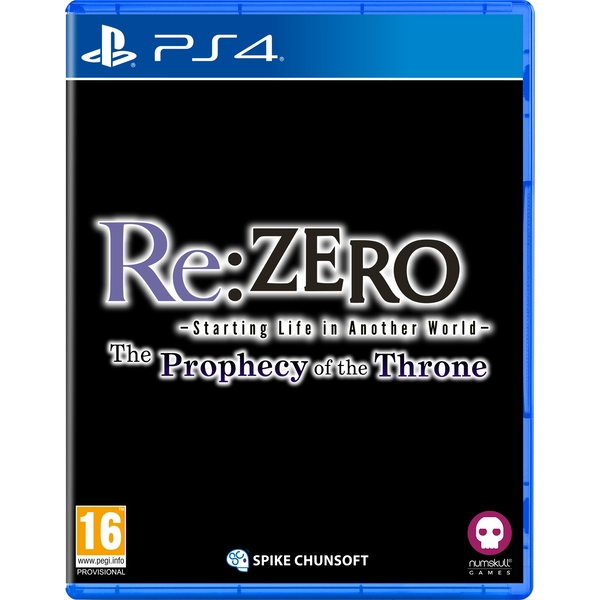 Re:ZERO Starting Life in Another World The Prophecy of the Throne PS4 Game