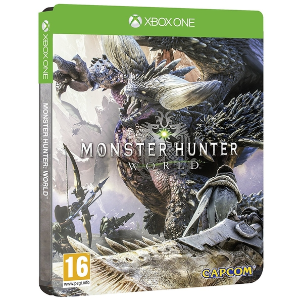 Monster Hunter World Steelbook Edition Xbox One Game
