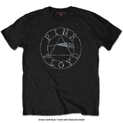 Pink Floyd - Circle Logo Men's Small T-Shirt - Black