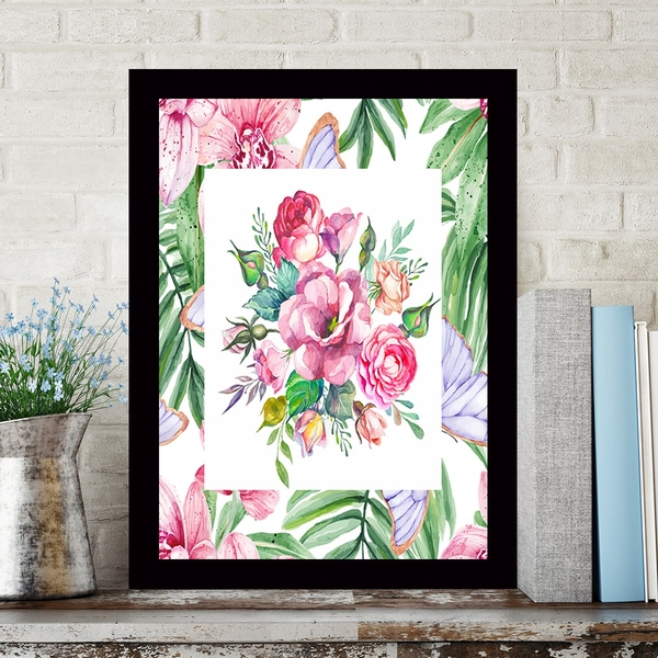 SCZ5536946923 Multicolor Decorative Framed MDF Painting