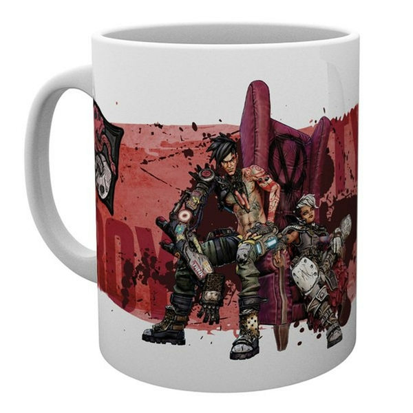Borderlands 3 Troy and Tyreen Ceramic Mug