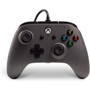 PowerA Enhanced Brushed Gunmetal Wired Controller for Xbox One