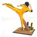 Bruce Lee Kicking PVC Figure - Image 2