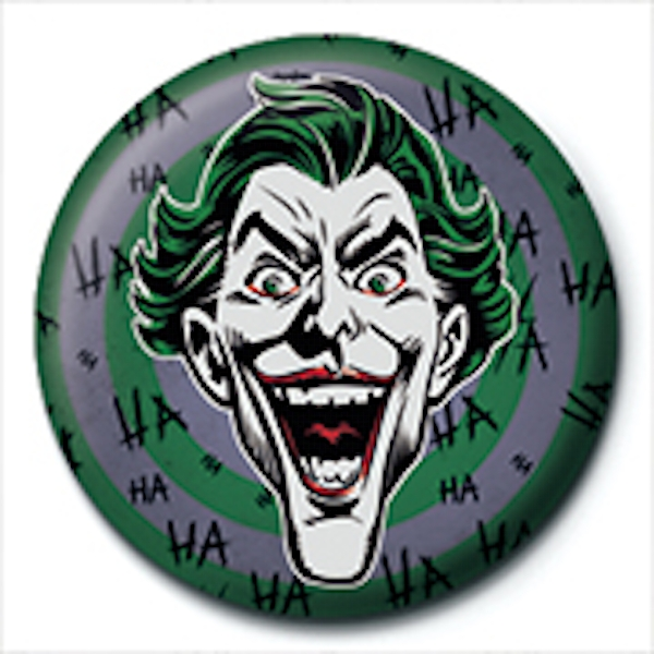 The Joker - HaHaHa Badge