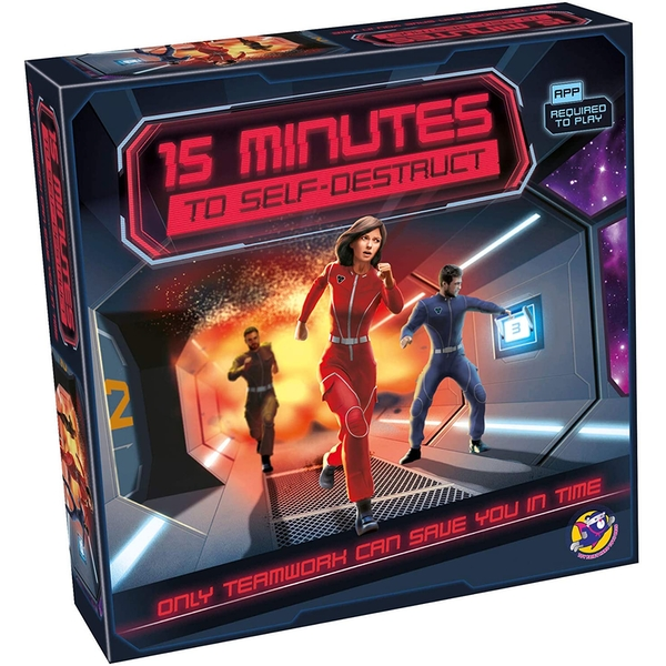 15 Minutes to Self Destruct Board Game [Damaged Packaging]