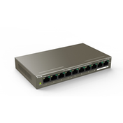 Tenda TEF1110P-8-102W 8 Port 10/100Mbps  2 Gigabit Port PoE Switch UK Plug