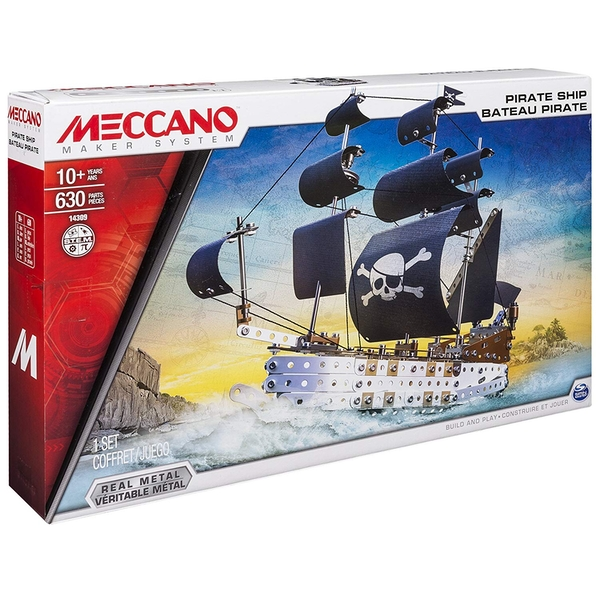 Meccano - Pirate Ship Model Set