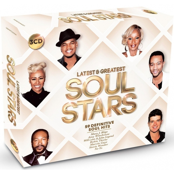 Various Artists - Latest & Greatest Soul Stars