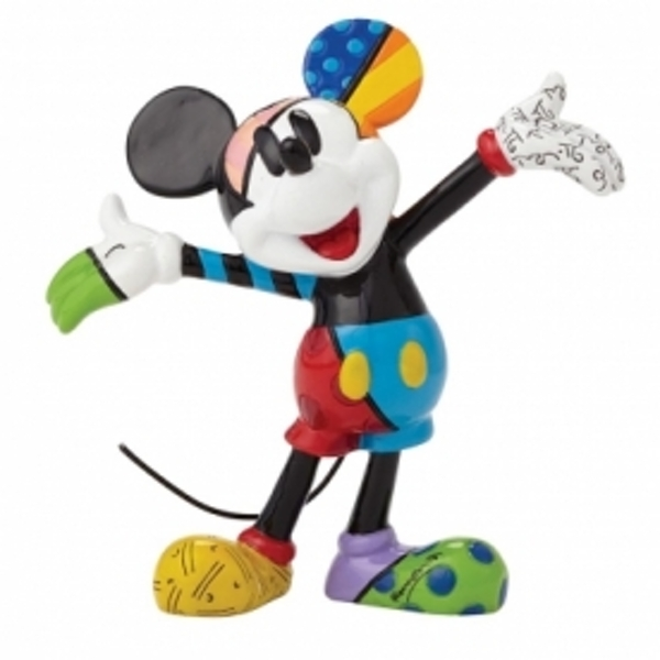 Disney Britto Mickey Mouse Mini Figurine - Image 1