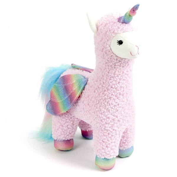 Pink Llamacorn with Wings Gund Soft Toy