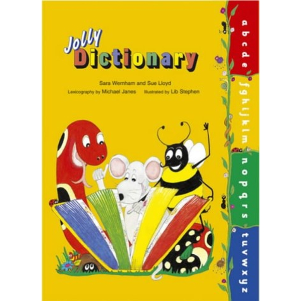 Jolly Dictionary (Hardback edition in print letters): American English by Sue Lloyd, Sara Wernham (Paperback, 2003)