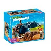 Playmobil Bear with Caveman