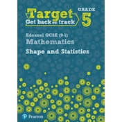 Target Grade 5 Edexcel GCSE (9-1) Mathematics Shape and Statistics Workbook by Diane Oliver (Paperback, 2016)