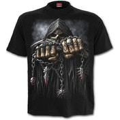 Game Over Men's Small T-Shirt - Black