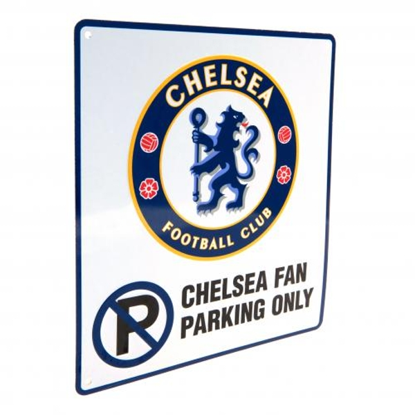 Chelsea FC No Parking Sign
