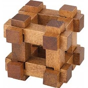 Chunky Wooden Chest Puzzle