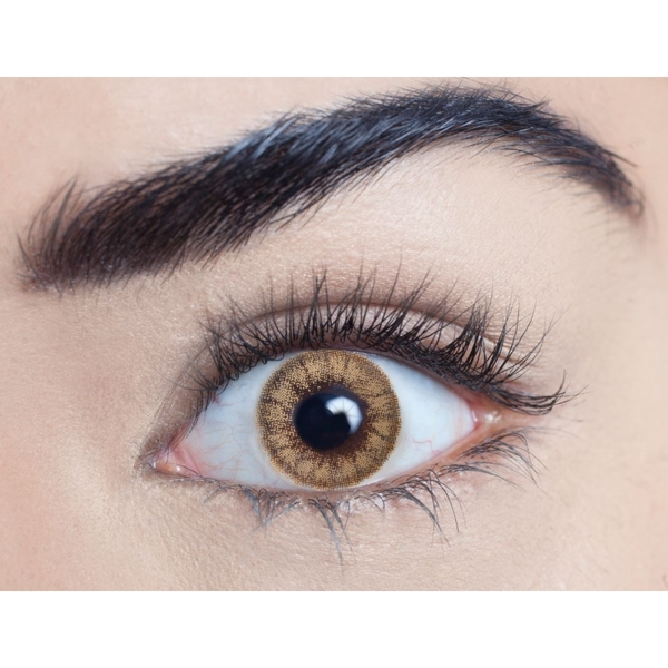 Caramel Tea 3 Month Coloured Contact Lenses (MesmerEyez)