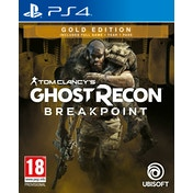Tom Clancy's Ghost Recon Breakpoint Gold Edition PS4 Game (Pre-Order Bonus DLC)