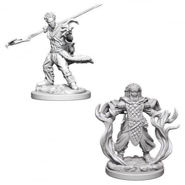 Dungeons & Dragons Nolzur's Marvelous Unpainted Miniatures - Human Male Druid