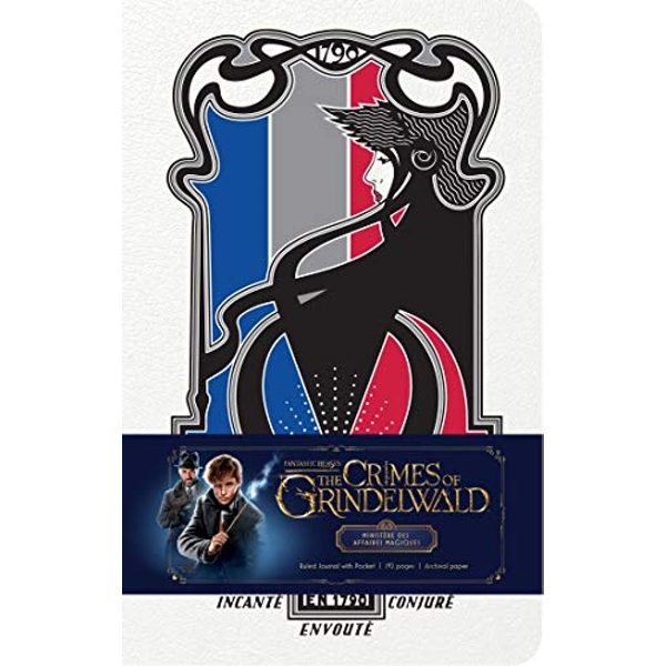 Fantastic Beasts: The Crimes of Grindelwald Ministere des Affaires Magiques Hardcover Ruled Journal Hardback 2018
