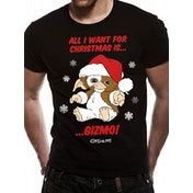 Gremlins - All I Want Is Gizmo Men's Small T-Shirt - Black