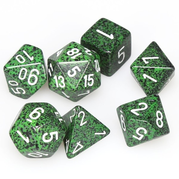 Chessex Speckled Poly 7 Dice Set: Recon