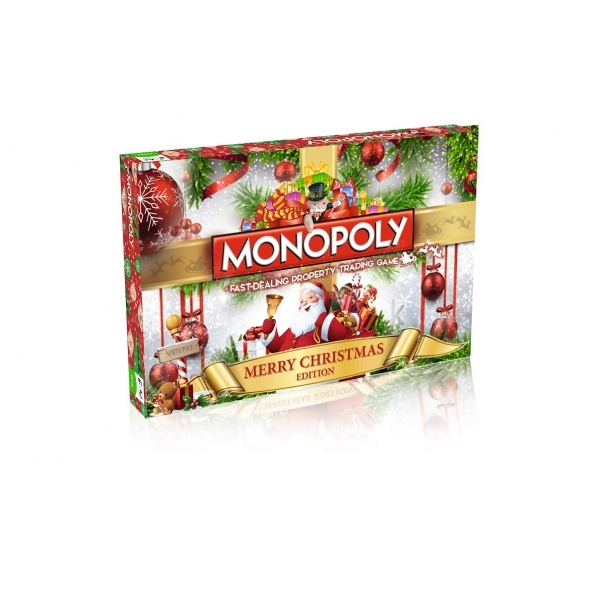 Christmas Monopoly Board Game - Image 1