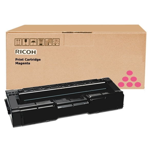 Ricoh 406481 (TYPE SPC 310 HE) Toner magenta, 6K pages @ 5% coverage