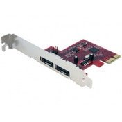 2 Port SATA 6 Gbps PCI Express eSATA Controller Card