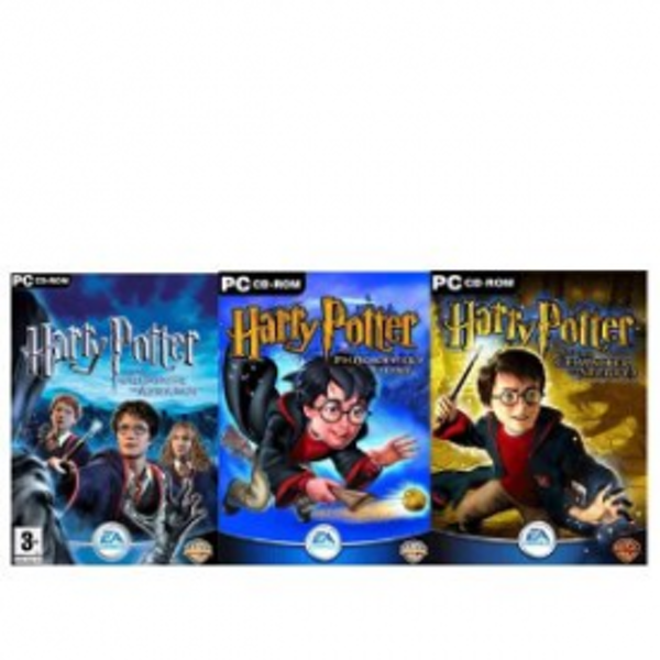 Harry Potter Triple Pack Collection Game PC