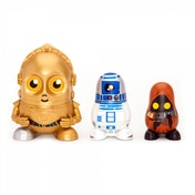 Star Wars Chubby Nesting Dolls Wave 1 C-3PO R2-D2 and Jawa