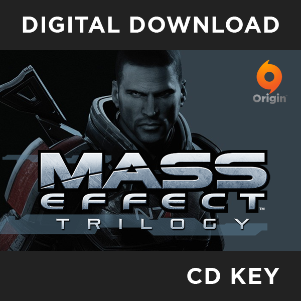 Mass Effect Trilogy Compilation PC CD Key Download for Origin