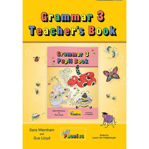 Grammar 3 Teacher's Book: in Precursive Letters (BE) by Sue Lloyd, Sara Wernham (Paperback, 2014)