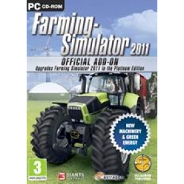Farming Simulator 2011 Official Add-On Game PC
