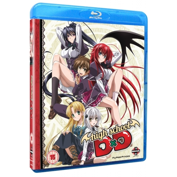 High School DxD Complete Series Collection Blu Ray
