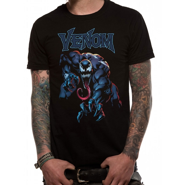 Venom - Grab Men's Large T-Shirt - Black