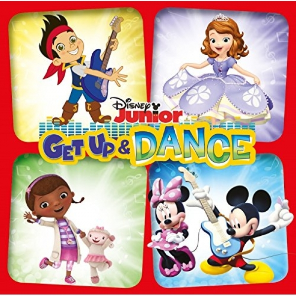 Disney - Get Up And Dance CD
