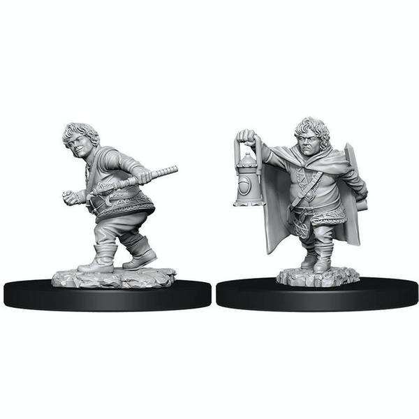 (W11) Dungeons & Dragons Nolzur's Marvelous Unpainted Miniatures Male Halfling Rogue