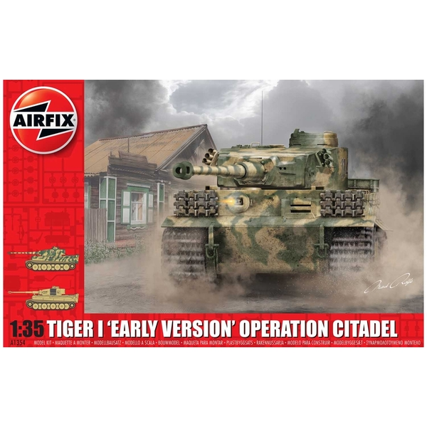 Tiger-1 Early Version - Operation Citadel 1:35 Tank Air Fix Model Kit