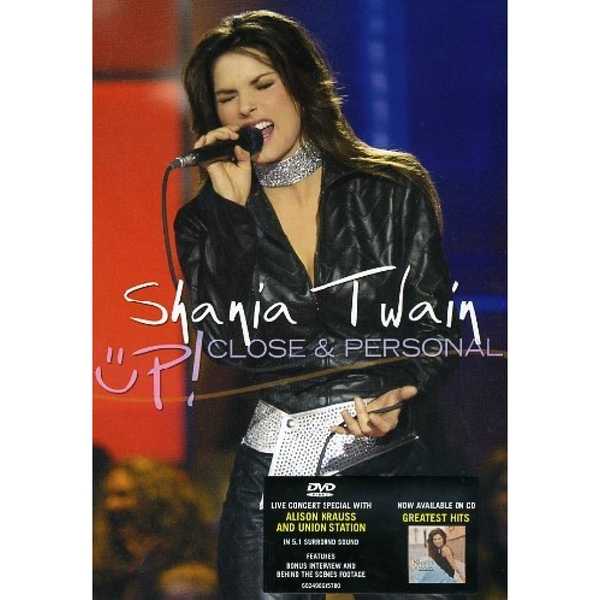 Shania Twain: Up Close And Personal DVD