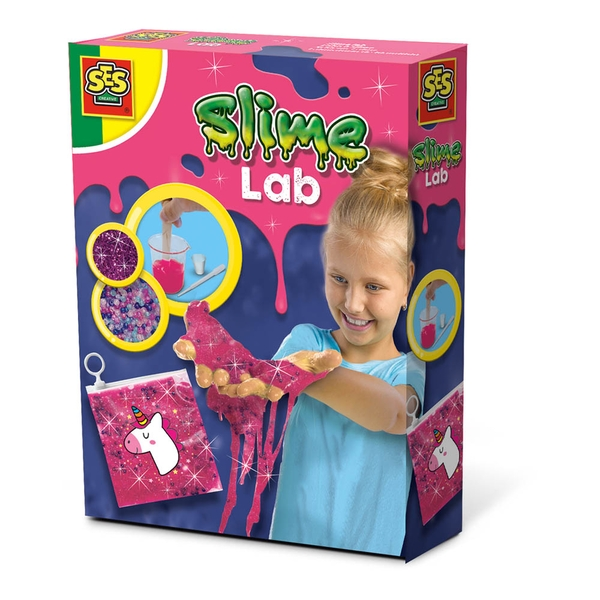 SES Creative - Children's Unicorn Slime Lab Playset (Pink)