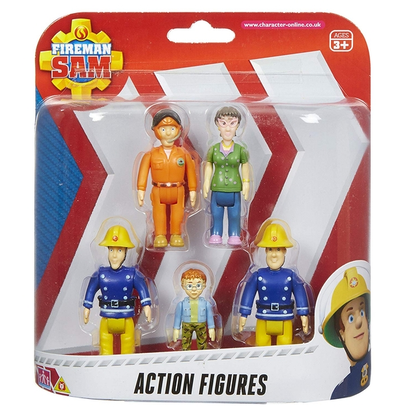 Fireman Sam 5 Figure Action Pack - Image 1