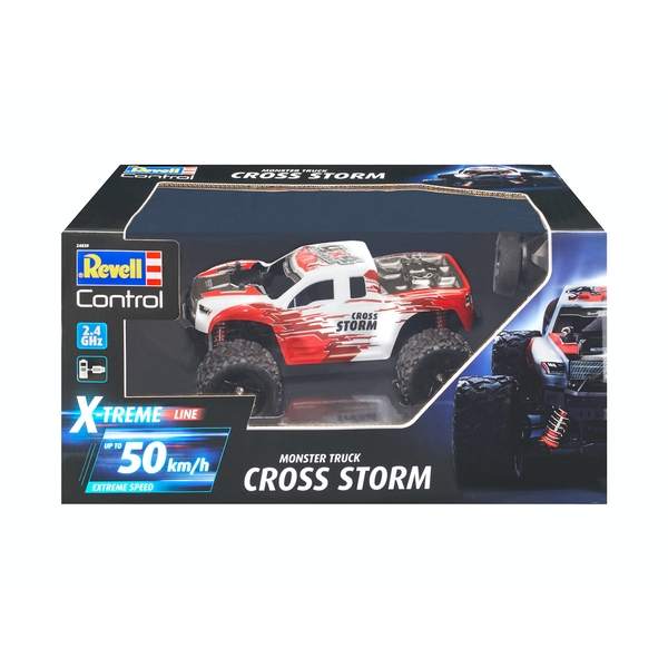 X-Treme CROSS STORM 1:18 Scale Revell Control Radio Controlled Monster Truck
