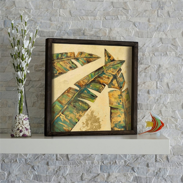 KZM432 Multicolor Decorative Framed MDF Painting