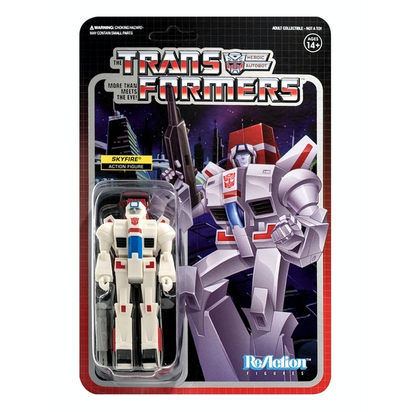 Skyfire (Transformers) Super 7 ReAction Figure