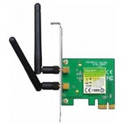 300Mbps Wireless N PCI Express Adapter  Atheros  2T2R  2.4GHz  802.11n/g/b  2 detachable antennas