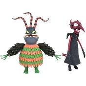 Harlequin & The Devil (Nightmare Before Christmas) Action Figure 2 Pack