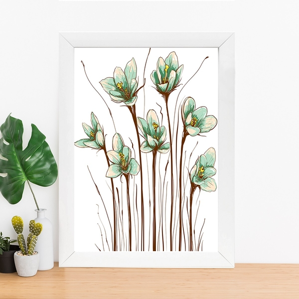 BC14077054 Multicolor Decorative Framed MDF Painting